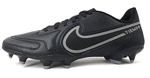 Nike Tiempo Legend 9 Club FG/MG, Scarpe da Calcio Unisex-Adulto, Black/Iron Grey-Mtlc Bomber Gry, 46 EU