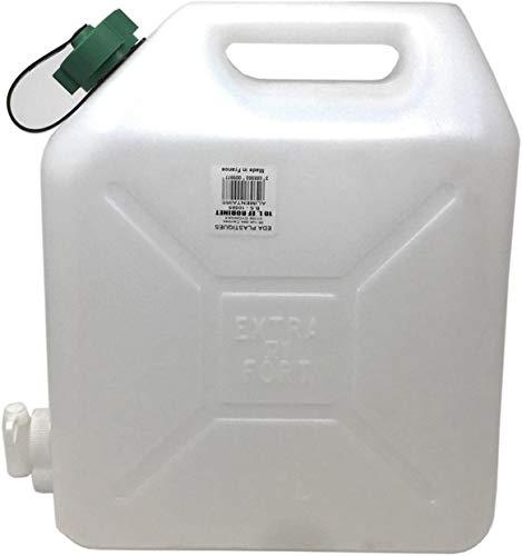 Acan Tanque Agua de 10 litros con Grifo, para Usar alimentario,Garrafa plástico con Grifo,dispensador Agua 10 l,Bidon con Grifo 10 l,Recipiente Agua,contenedor de Agua