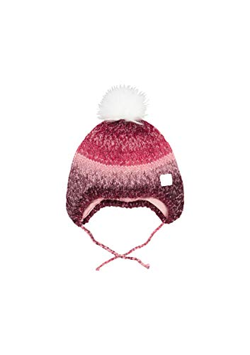 s.Oliver Baby-Mädchen 59.909.92.2284 Mütze, Rosa (Dusty Pink Knit 42x4), 41/43 (Herstellergröße: 39-43)