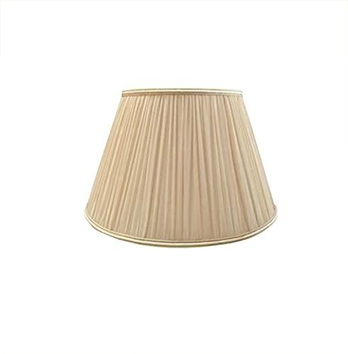 C-J-H E27 Art Deco Style Lampshade, Utilizado para la Tela doméstica Decoración de la Pantalla Pantalla de Pantalla,45CM