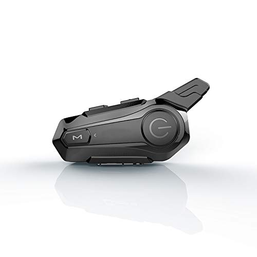 MKNIUA Motorcycle Helmet Bluetooth Headset Microphone Motorcycle Helmet Communication System Headset Universal Wireless Walkie-Talkie Motorcycle E1 Multifunctional Stereo TWS Headphone (1 pcs)