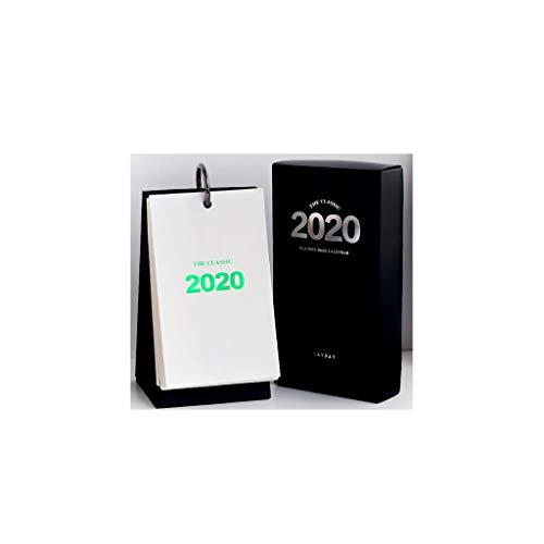 Calendario Familiar 2020 unidireccional Calendario de Escritorio Calendario Simple Creative Business encimera Mano Calendario Tear Calendario Calendario Calendario Notebook Calendario de Pared