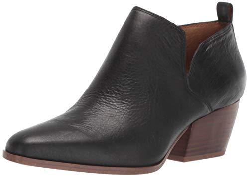 Franco Sarto Women's DINGO2 Ankle Boot, Black Crocco, 9 M US