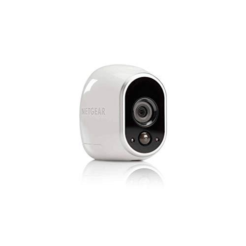 NETGEAR Arlo VMC3030-100EU Smart Home Zusatz-HD-Security-Kamera - kabellos, Indoor/Outdoor, Bewegungssensor, Nachtsicht - Weiss