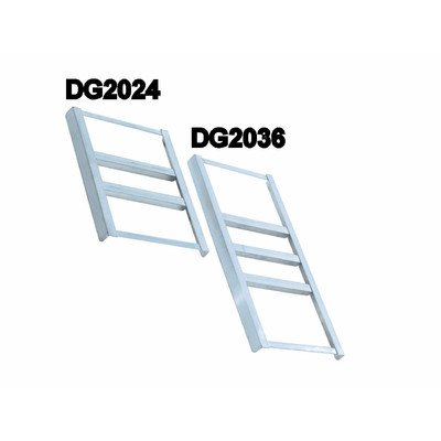 "PVIFS DG2424 Dunnage Bridge, 24"" Length x 24"" Width, for 24"" Width Nesting Style Dunnage Racks"