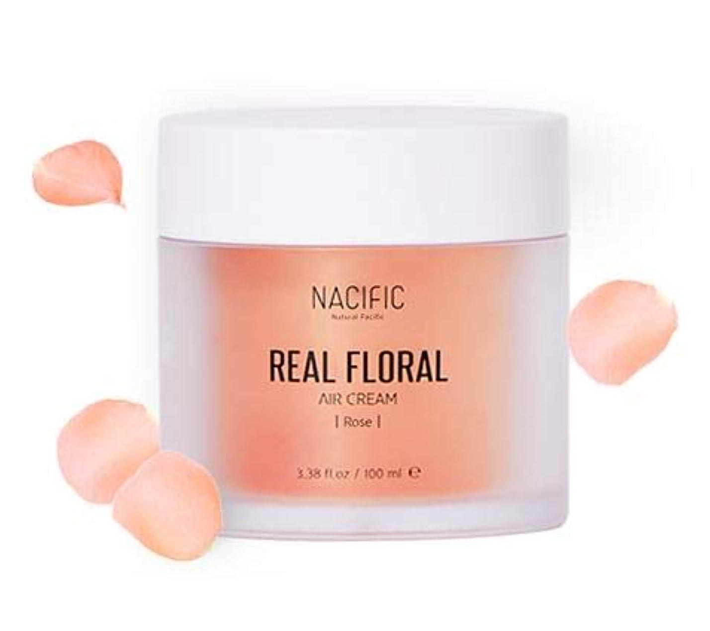 ジャンピングジャックスポンサーインサート[ NACIFIC ] Real Rose Floral Air Cream 100ml (Rose) / [ナシフィック] リアル (ローズ エア クリーム) 100ml [並行輸入品]