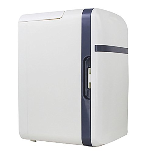 GHL Auto-koelkast, mini-huishoudelijk, 10 liter, geschikt voor familie, kantoor en auto grijs