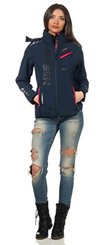 Geographical Norway Softshell Jacke - REVEUSE - Navy - L/3
