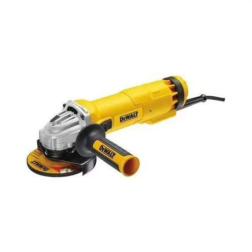 Dewalt DWE4206-QS DWE4206-QS-Mini-amoladora 115mm 1.010W 11.000 RPM Suave + Bloqueo y re-Arranque, 1010 W, 230 V, Arándano