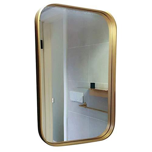 ZHAOJYZ Household Necessities/wandspiegel, elegant, badkamerspiegel, toiletspiegel, spiegel met HD-spiegel, dikte van de rand van de make-upspiegel