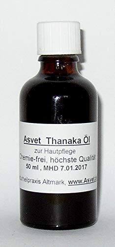 Asvet Thanaka Öl, 100ml zur Hautpflege, mit Kusuma-Öl, sehr ergiebig !