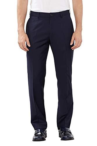 ESPRIT Collection Herren Anzughose Regular Fit, Blau (Dark Navy), Gr. 90