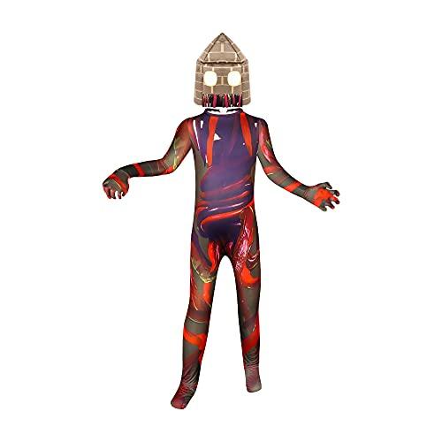 Kids Scary Urban Legend Costume Monster Cosplay Boy Creepy Jumpsuit 5-12 Years