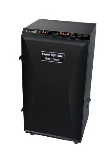 Cajun Injector Black Electric Smoker