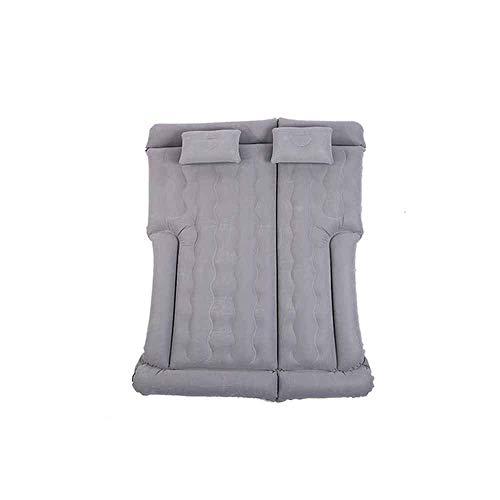 ZFFSC Cama Inflable Cama de Camping de la cojín Inflable para el hogar, Dos Almohadas, colchoneta de Aire Engrosada Inflable para el Coche para Dormir, Adecuado para Cama Inflable (Color : Gray)
