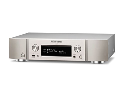 Marantz ネットワークオーディオプレーヤー ハイレゾ音源対応/インターネットラジオ/USB-DAC シルバーゴールド NA8005/FN