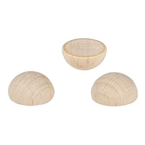 10mm x 30mm plissé hardwood en bois pin goujon de meubles qui etc FWS 25