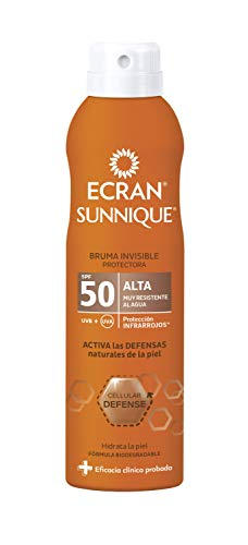 Ecran Sunnique, Bruma Protectora Invisible con SPF50 - 250 ml