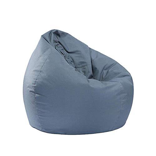 N/A Sitzsack für Kinder, Stofftier-Aufbewahrung, Beanbag, Oxford-Stuhlbezug, Kinderliege, wasserfest, ohne Füllung