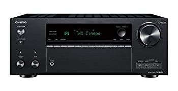 Onkyo TX-NR696 Home Audio Smart Audio and Video Receiver Sonos Compatible and Dolby Atmos Enabled 4K Ultra HD and AirPlay 2  2019 Model ,Black