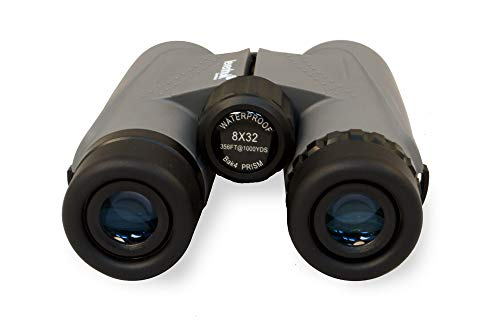 Levenhuk Karma PLUS 8x32 Compact Waterproof Binoculars with BaK-4 Glass Optics