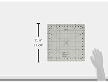 Fiskars 14x14 Inch Self Healing Rotating Cutting Mat