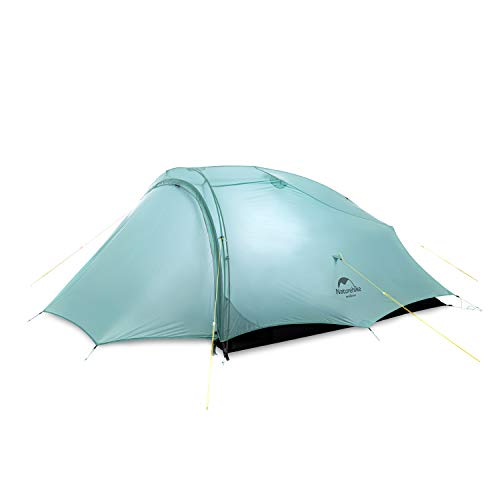 iBasingo SHARED Lightweight Tent Outdoor 3 season Tent 2 Person Camping Tent Climbing Rainproof Windproof Double-layer Double Tent NH20ZP091
