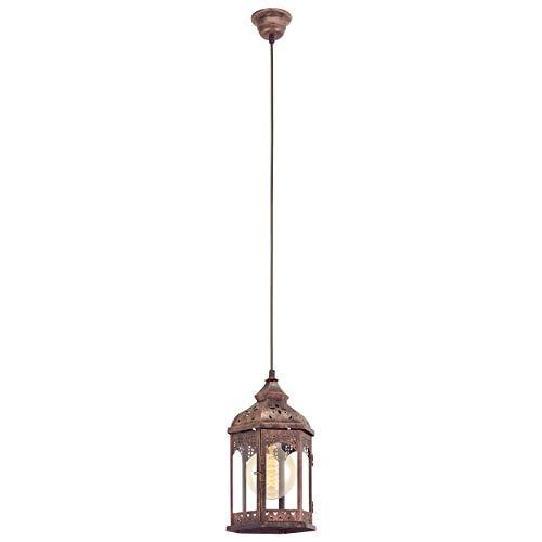 Eglo 49224–Lámpara de techo, plata