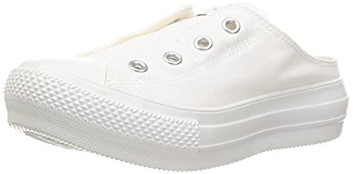 [コンバース] スニーカー オールスター ライト PLTS ミュール スリップ OX ホワイト 23.5 cm