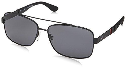 Tommy Hilfiger Herren TH 1521/S Sonnenbrille, Schwarz (MTT BLACK), 59
