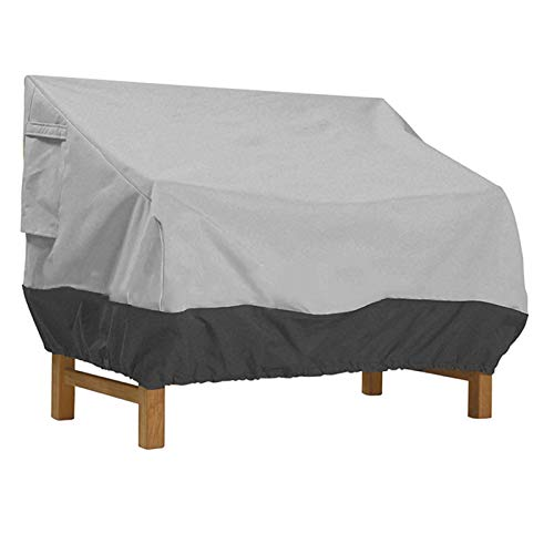Cubierta de mesa de jardín Sofá al aire libre cubierta de la silla muebles de jardín a prueba de polvo y la cubierta protectora cubierta protectora transpirable sofá de tela Oxford cubierta impermeabl