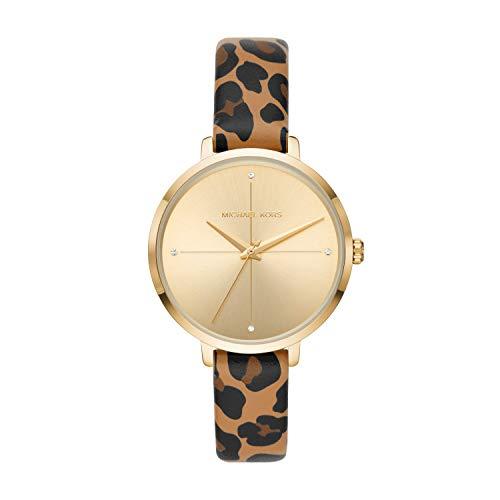 Michael Kors Women's Charley Three-Hand Gold-Tone Alloy Watch MK2866