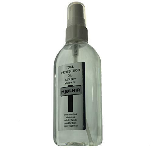 Mjolnir Pure Silicone Oil Tool Spray 100ml - 100% silicone oil without additives sprayable viscosity