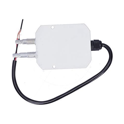 Sensor de presión de viento, transmisor de pantalla digital DC24V para suministro de aire de caldera para control de proceso de presión para ventilación descendente(0-5Kpa, Pisa Leaning Tower Type)