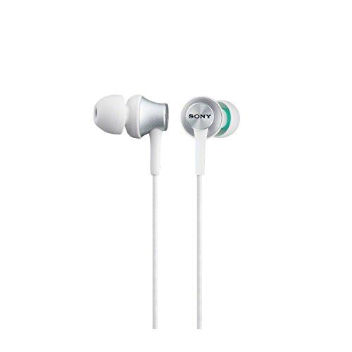 Sony MDR-EX450-W Earphones with Aluminium Housing - White