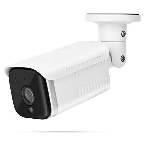 Caiqinlen Cámara inalámbrica, WiFi Cámara Impermeable Cámara de Seguridad, Monitorear Tiendas Negocios para Casas Estacionamientos(British regulatory)