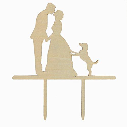 LEORX Günthart–Figura para tarta para tartas Conector Pastel de boda Topper tartas Tapa–1pieza
