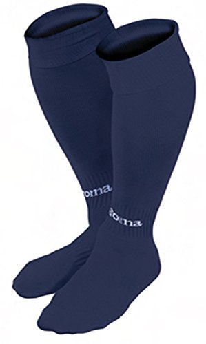 Joma Classic Calcetines de fútbol, Hombres, Azul Marino, L
