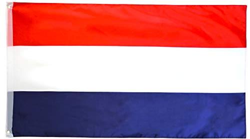 Star Cluster 90 x 150 cm Flagge der Niederlande/Niederlande Fahne/Vlag Van Nederland/Flag of The Netherlands (NL 90 x 150 cm)