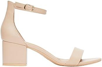 Rohb by Joyce Azria Calypso Mid Heel & Low Heel Ankle Strap Sandal