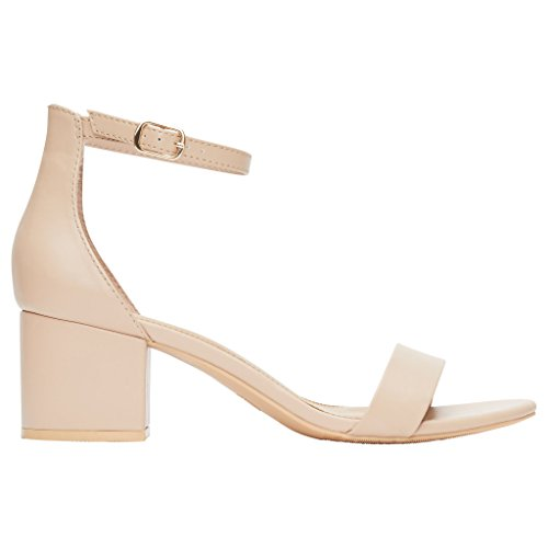 Rohb by Joyce Azria Calypso Heel Ankle Strap Sandal -$24.99(24% Off)