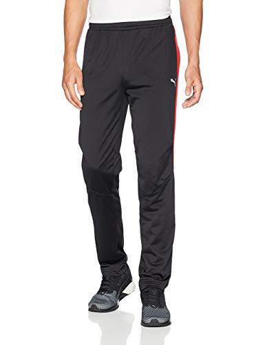PUMA Pantalones de chándal Scuderia Ferrari T7 para Hombre, Hombre, Pantalón Deportivo, 57670302, F Puma Negro, M
