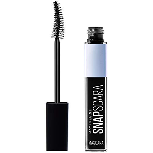 Maybelline New York Snapscara Washable Mascara, 300 WASHABLE PITCH BLACK