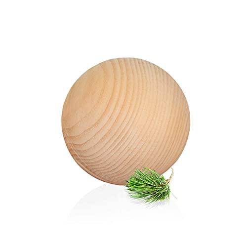 ZirbenKugel - luftgetrocknetes Zirbenholz - für Karaffe Misura oder Nimbus