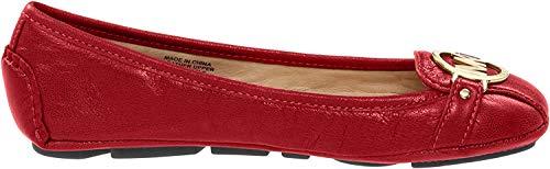 Femmes Michael Michael Kors Ballerines Couleur Rouge Bright Red Taille 38 EU / 7