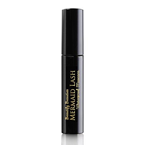 Beautify Beauties Black Luxury Waterproof Mascara - Lengthening, Hypoallergenic, Volumizing, Non Clumping, Gluten Free & Paraben Free