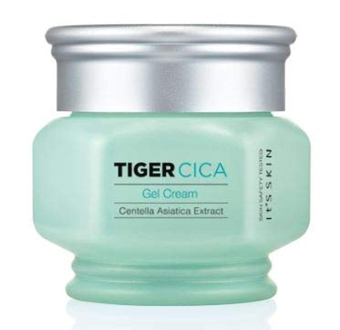 リダクターカナダタワー[It's Skin] Tiger Cica Gel Cream /[イッツスキン] タイガーシカ ジェル クリーム [並行輸入品]