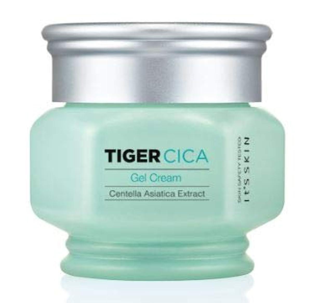 眉をひそめる違反する十[It's Skin] Tiger Cica Gel Cream /[イッツスキン] タイガーシカ ジェル クリーム [並行輸入品]