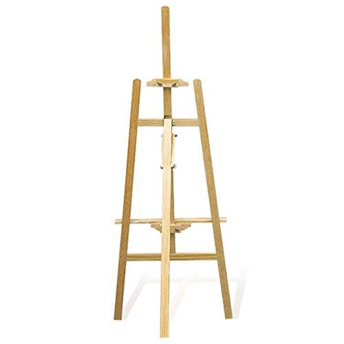 Trintion Staffelei Holz groß Kinder Atelierstaffelei Standstaffelei höhenverstellbar Dreifuss Ständer für Maler, Künstler und Veranstaltungen