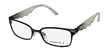 Koali 6941k Womens/Ladies Designer Full-rim Eyeglasses/Spectacles  49-17-135 Black/Ivory